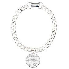 Foral 50 Charm Bracelet, One Charm