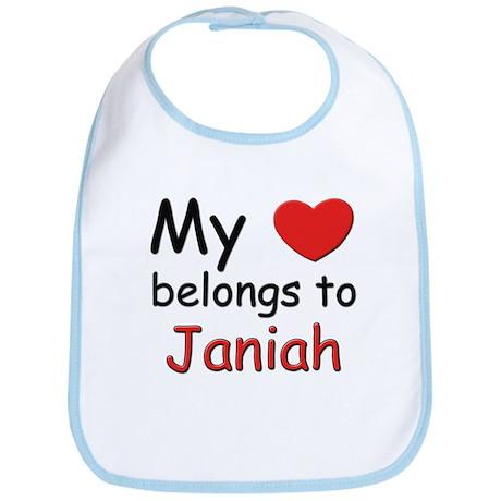 My heart belongs to janiah Bib