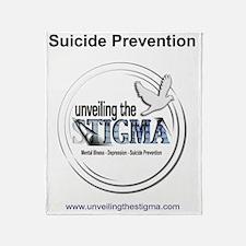 stigmaBACKSUICIDE Throw Blanket