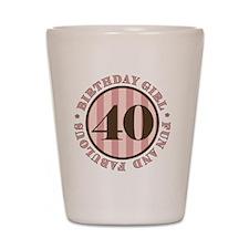 FunAndFab 40 Shot Glass