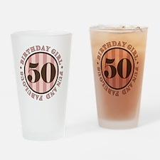 FunAndFab 50 Drinking Glass