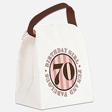 FunAndFab 70 Canvas Lunch Bag