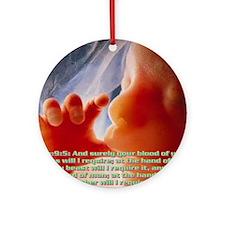 Genesis9@5 Round Ornament