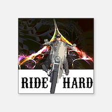 Ride Hard Sticker