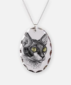Cornish Rex Sketch Necklace