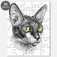 Cornish Rex Sketch Puzzle