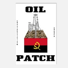 Angola Oil Patch 2a BC us Postcards (Package of 8)