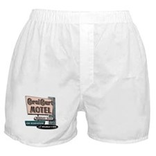 Coral Court Boxer Shorts (white)
