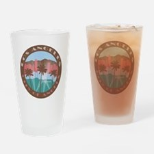 LA City of Angels chocolate Drinking Glass