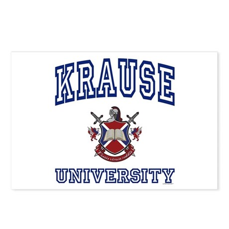KRAUSE University Postcards (Package of 8)