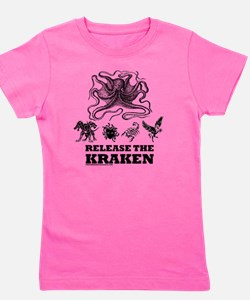kraken and mythological beasts Girl's Tee