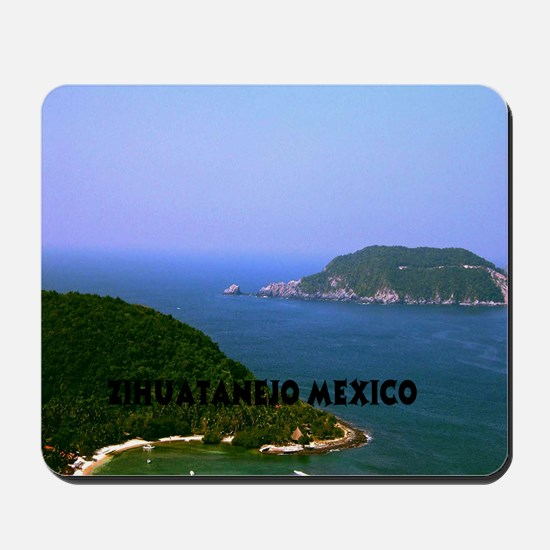 Zihuatanejo harbor15.35 Mousepad