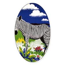 FIN-zebra-watercolor Decal