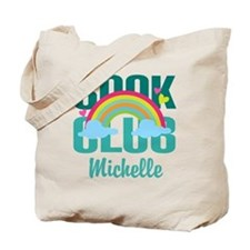 Personalized Book Club Gift Tote Bag