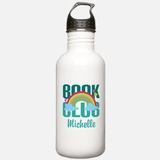 Personalized Book Club Gift Water Bottle