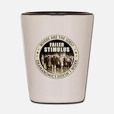 march_failed_stimulus Shot Glass
