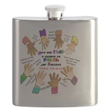 give our kids button Flask