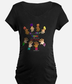 give our kids button T-Shirt
