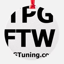 BoostGear - TPG - FTW - WHITE Ornament