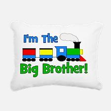 train_imthebigbrother Rectangular Canvas Pillow