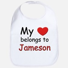 My heart belongs to jameson Bib