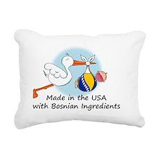 stork baby bosnia 2 Rectangular Canvas Pillow