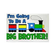 Train_GoingtobeaBIGbrother Rectangle Magnet