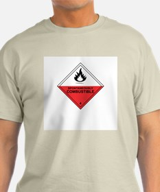 """""""Combustible"""" Light Color T-Shirt"""