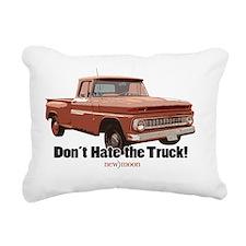 Bellas truck Rectangular Canvas Pillow