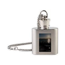 the fly Flask Necklace