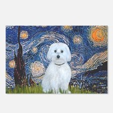 SFP-Starry Night - Maltes Postcards (Package of 8)