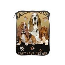 Basset Hounds Cant Have Just One iPad Sleeve