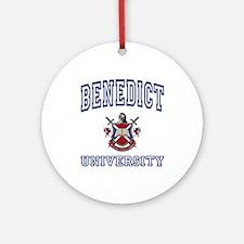 BENEDICT University Ornament (Round)