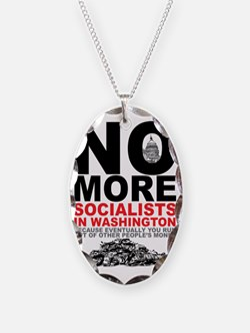 No More Socialists Necklace