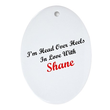 In Love with Shane Oval Ornament