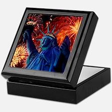 Lady_Liberty_9.25x7.75 Keepsake Box