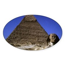sphinx and pyramid11.5x9 Decal