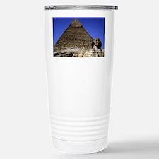 sphinx and pyramid42x28 Travel Mug