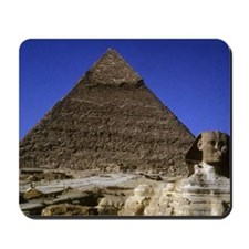 sphinx and pyramid42x28 Mousepad