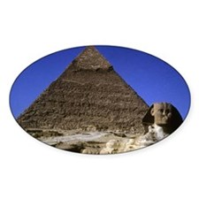 sphinx and pyramid42x28 Decal