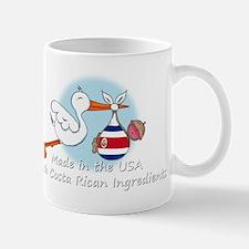 stork baby costa white 2 Mug