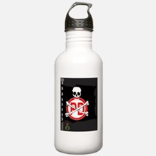 pirates-flag-dark Water Bottle