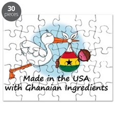 stork baby ghana 2 Puzzle