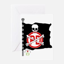 pirates-flag Greeting Card