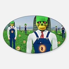 gmseendonetshirt Sticker (Oval)