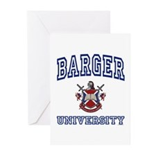 BARGER University Greeting Cards (Pk of 10)