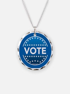 btn-blue-vote Necklace