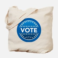 btn-blue-vote Tote Bag