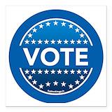 Vote Square Car Magnets