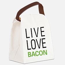 livebacon3 Canvas Lunch Bag